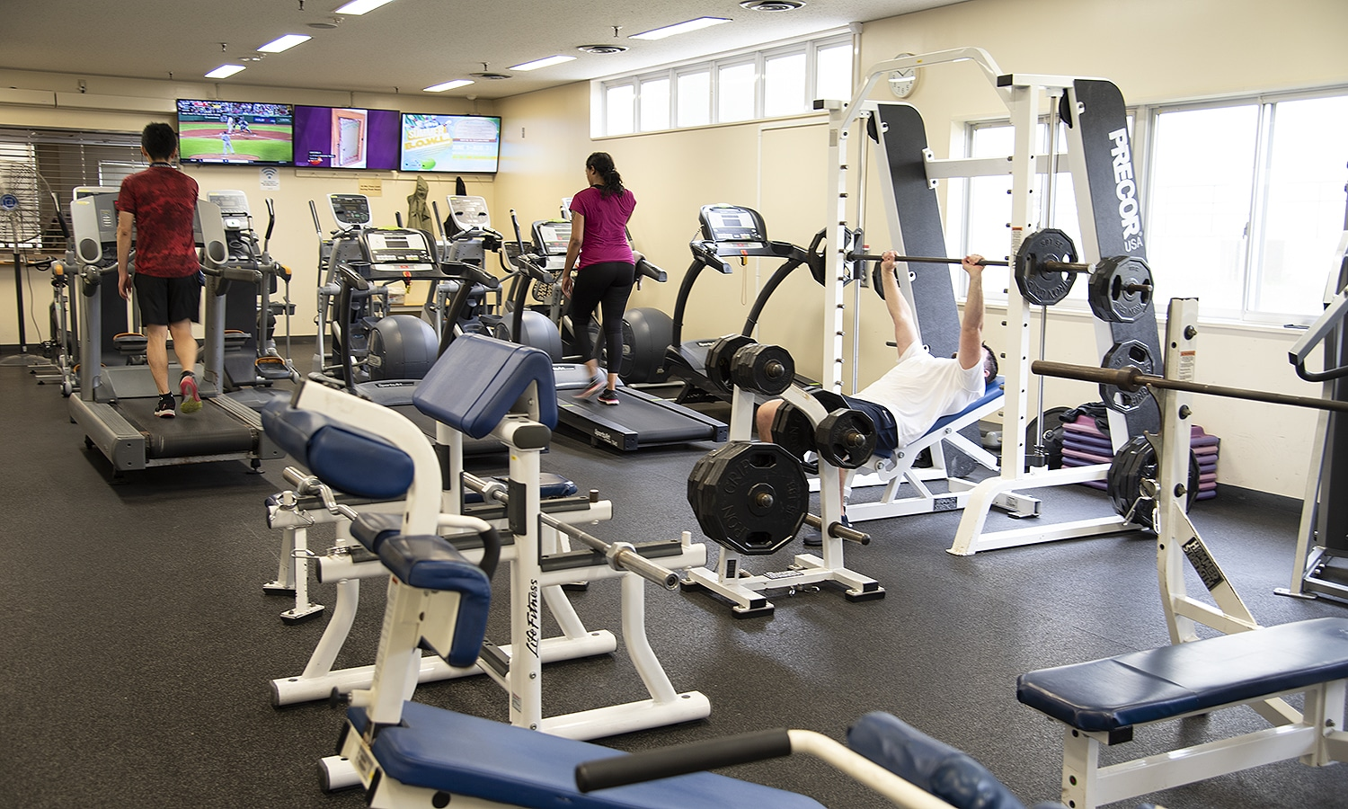 Freedom Fitness Center Weight Area