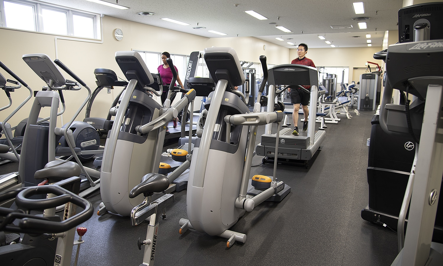 Freedom Fitness Center Cardio Equipment
