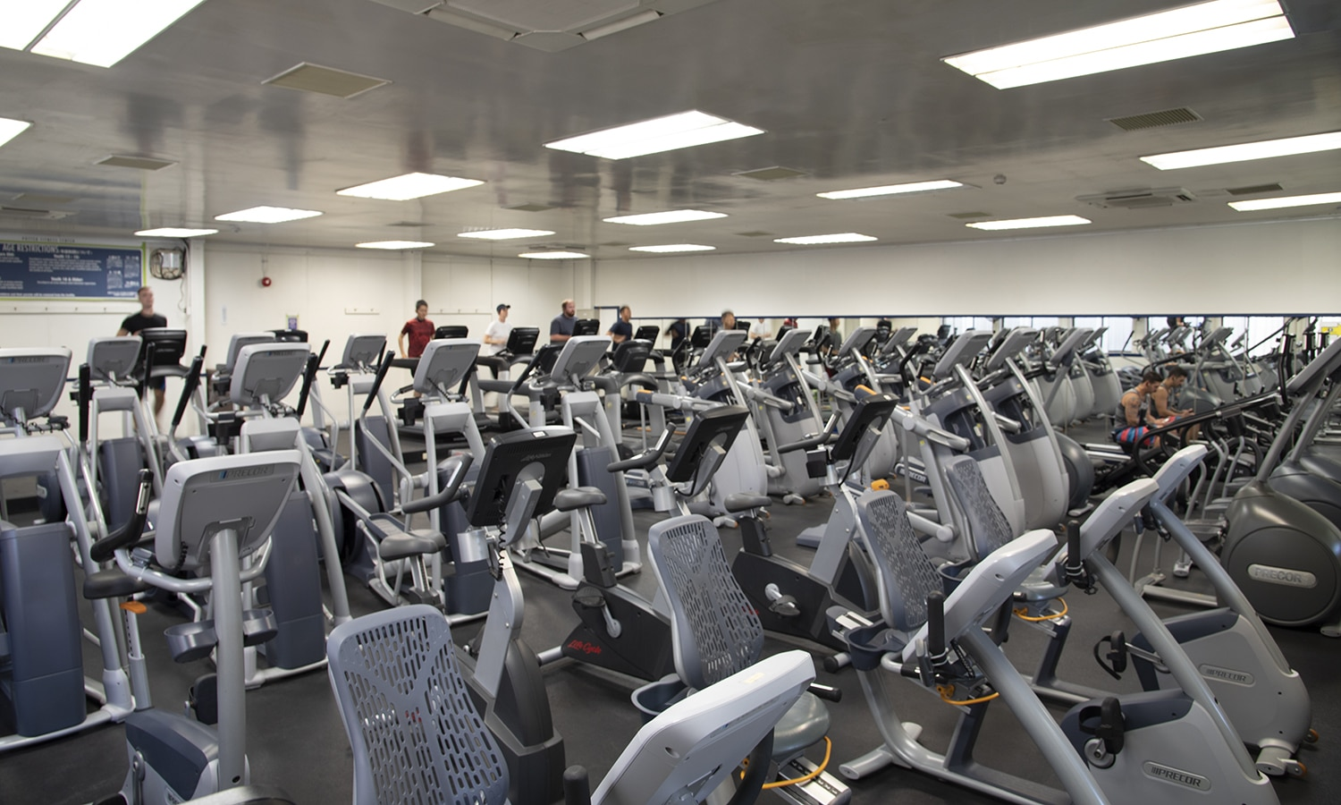 Potter Fitness Center Cardio Room