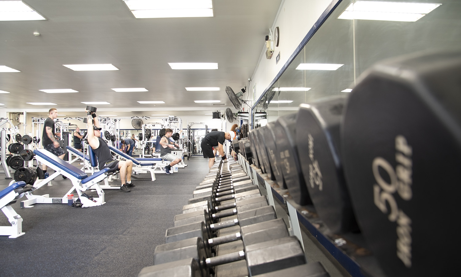 Potter Fitness Center Weight Room