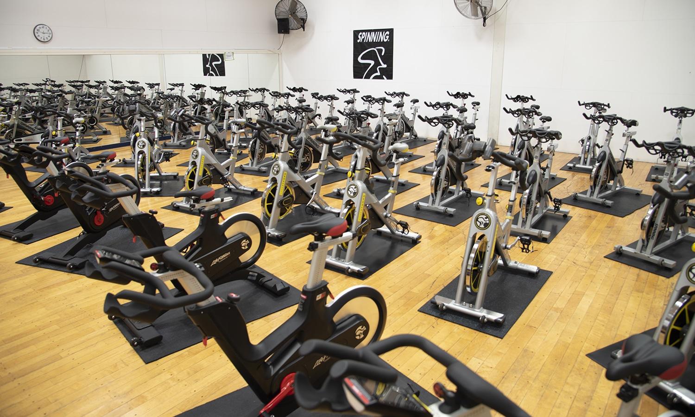 Potter Fitness Center Spin Room